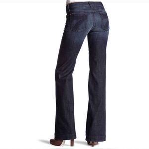 7 For all mankind dojo dark wash jeans